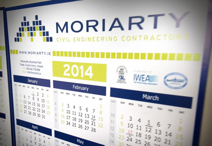 Moriarty-Calendar